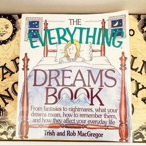 The Everything Dreams Book Metaphysical Book